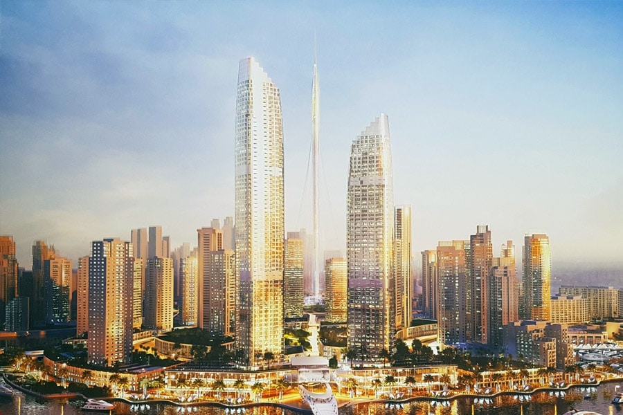 address harbour point emaar properties
