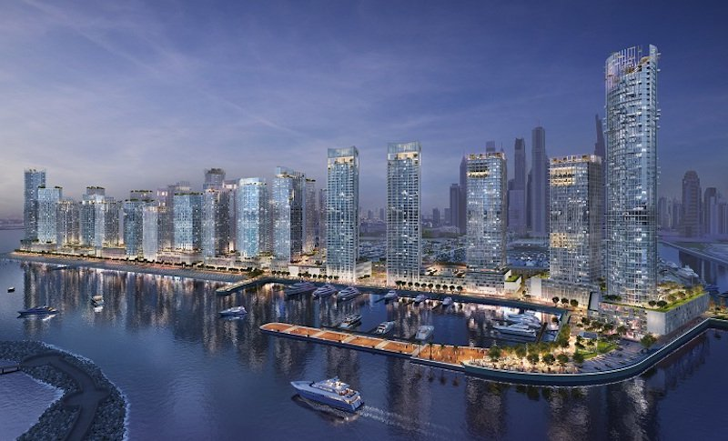 Emaar Beachfront At Dubai Harbour Off Plan Project